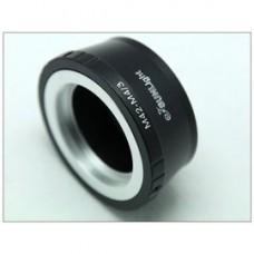 M42螺口鏡頭轉M4/3轉接環 G1|GF1|轉E-P1|EP1微單相機接環