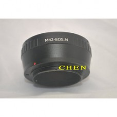 M42-EOS M轉接環 螺口M42*1鏡頭轉EFM EOS M微單機身接環