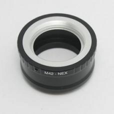 高精度 M42-NEX M42 螺口鏡頭轉 NEX6 NEX5 NEX7 轉接環